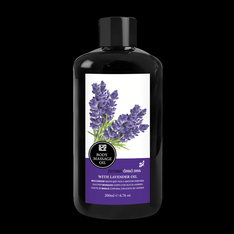 Body Massage Oil With Lavender Oil Juman Deas Sea